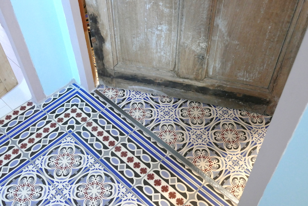 Carreaux ciment pamela gallart for Salle de bain ciment