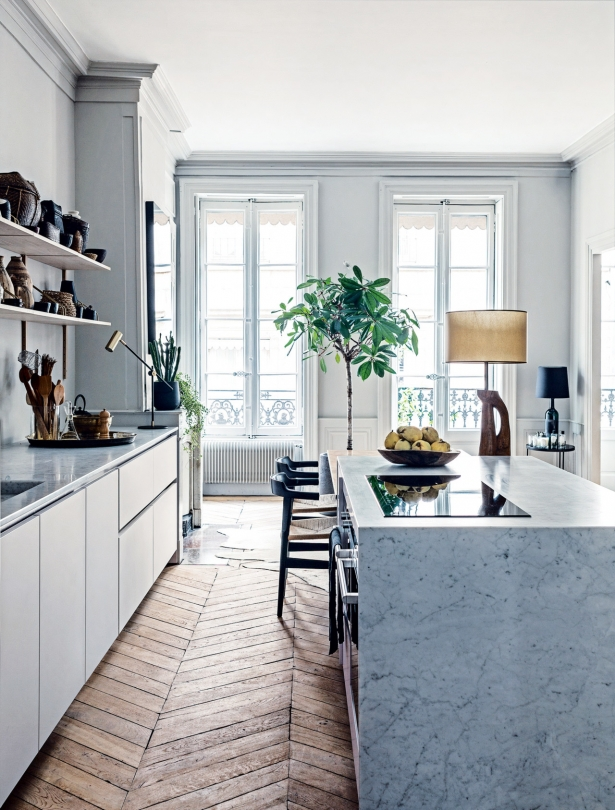 Inspiration appartement haussmanien pamela gallart for Inspiration appartement