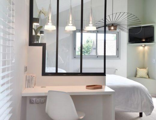 Inspiration appartement haussmanien pamela gallart - Cloison amovible appartement ...